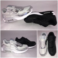 *GLITZER LACK* New Style AIR Sportschuhe / Sneakers