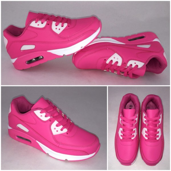 COLOR New Style LUFT Sportschuhe / Sneakers FUCHSIA
