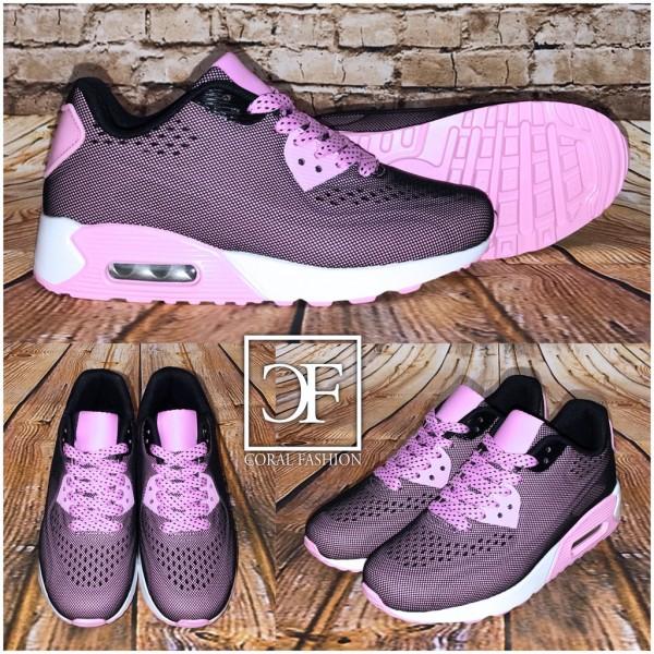 Fashion NET-PRINT LUFT Sportschuhe / Sneakers ROSA
