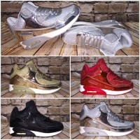 MIDI cut AIR Sportschuhe / Sneakers schimmernd - LACK Optik