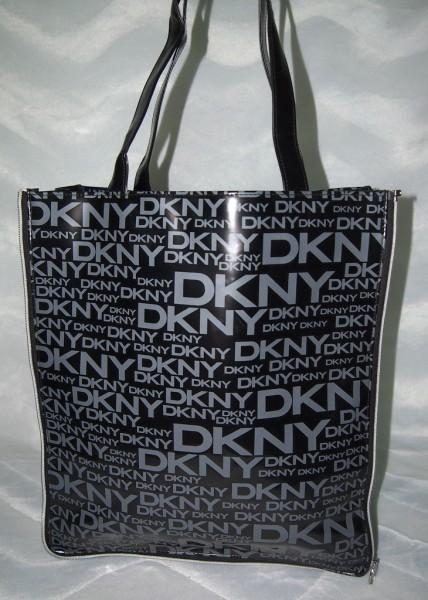 DKNY Shopper Schwarz / Grau