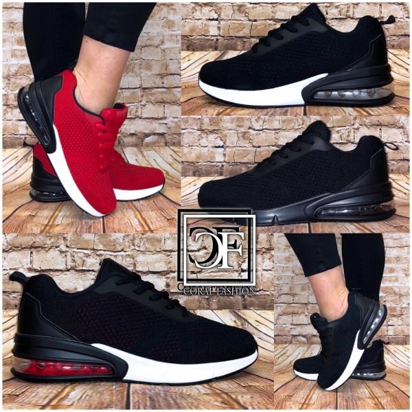 Herren Knitted XXL LUFT Sportschuhe Sneakers in 4 Farben Unisex