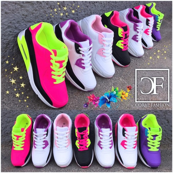 COOL Color LUFT Sportschuhe / Sneakers in 7 Farben