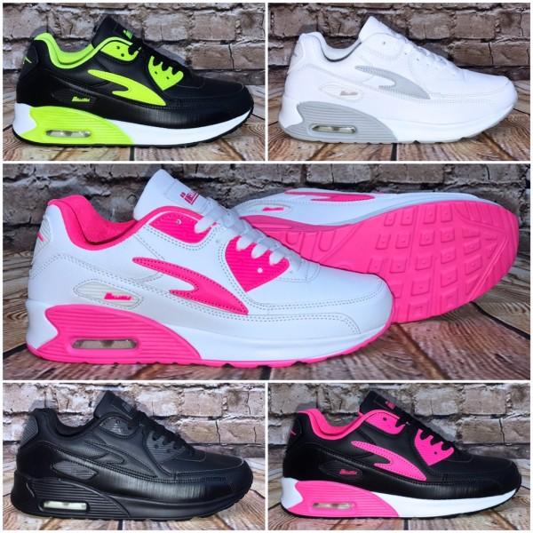NEW BELLA Style LUFT Sportschuhe / Sneakers in 5 Farben