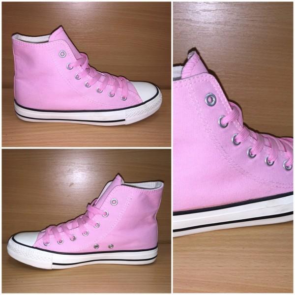 DENIM color Sportschuhe / Sneakers ROSA