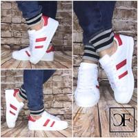 Flache LOW CUT 2 STRIPE Sportschuhe / Sneakers
