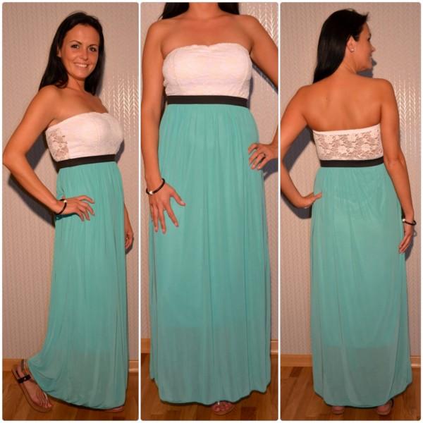 Stylisches Kleid im Römerstil GRÜN