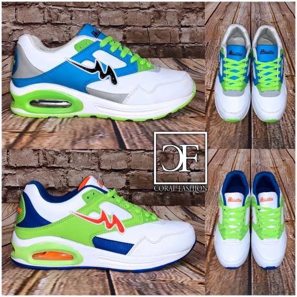 HERREN Color DOUBLE LUFT Sportschuhe / Sneakers
