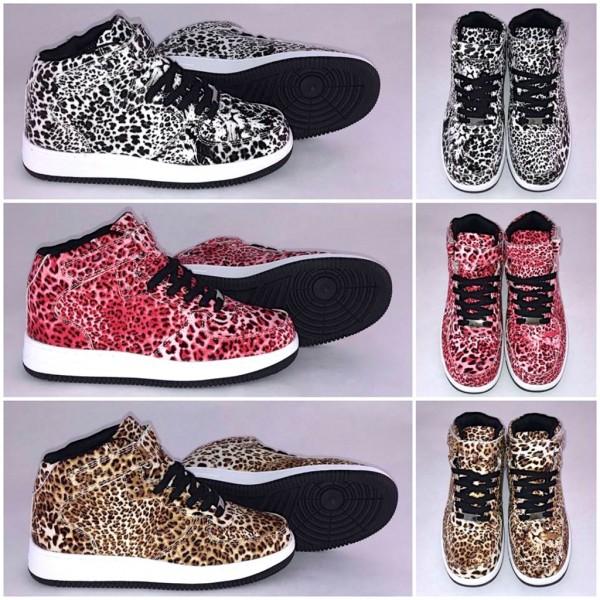 LEOPARDEN Highcut KLETT Sportschuhe / Sneakers