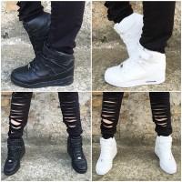 NEW Style Highcut Sportschuhe / Sneakers MATT