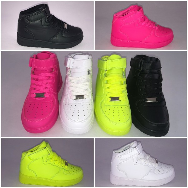 KINDER *NEW Style Highcut KLETT Sportschuhe / Sneakers