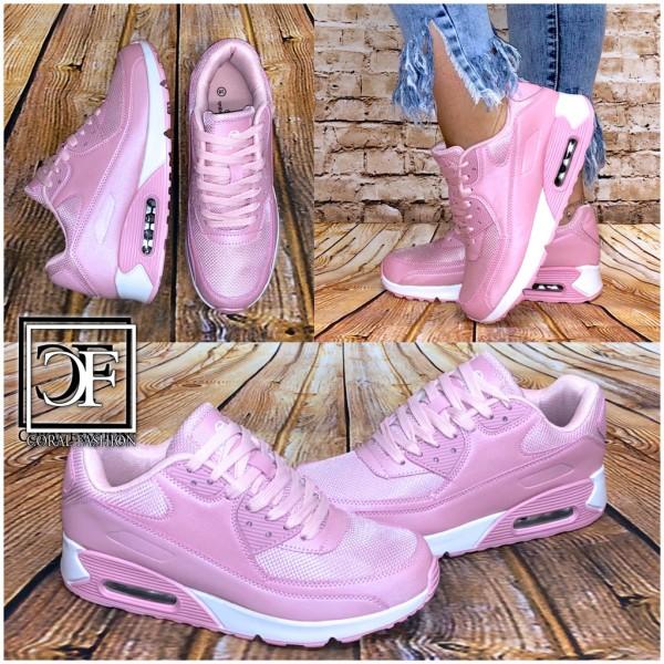 Fashion Damen LUFT Sportschuhe Sneakers Pink Pearl