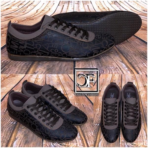 the latest 10f82 71d78 Sportlich Elegante HERREN Italy Schuhe / Sneakers / Sportschuhe WORDS BRAUN
