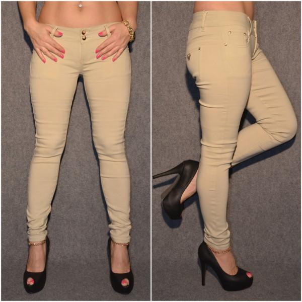 Fashion Stretch Hose BEIGE
