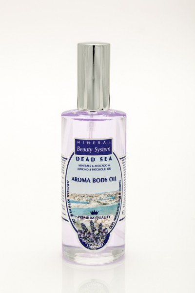 DEAD SEA Körperöl LAVENDEL Aroma Mineral Beauty System