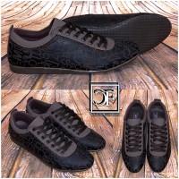 Sportlich Elegante HERREN Italy Schuhe / Sneakers / Sportschuhe WORDS BRAUN
