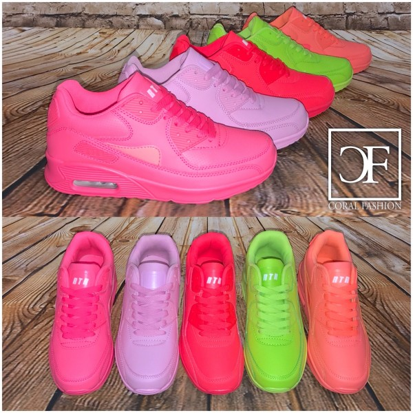 COOL Summer Color LUFT Sportschuhe / Sneakers in 5 Farben