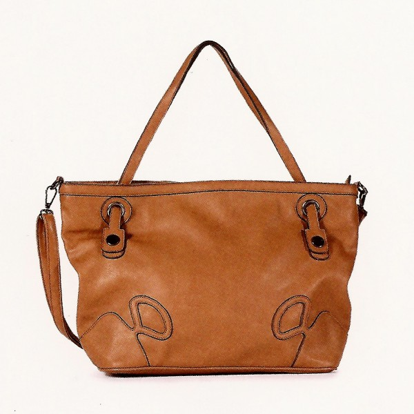 FLORA & CO Paris Handtasche CAMEL (9928)