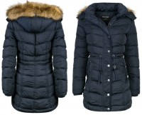 HIGH QUALITY gefütterte Winterjacke / Wintermantel mit abnehmbarer Kapuze