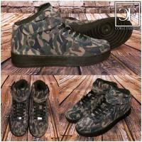 Herren NEW Style Highcut KLETT Sportschuhe / Sneakers in Rauleder Optik CAMOUFLAGE