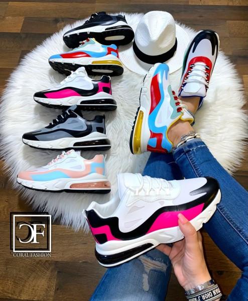 Damen Multi Color Print XXL LUFT Sportschuhe Sneakers in 6 Farben