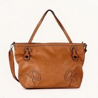 FLORA & CO Paris Handtasche CAMEL (9928)