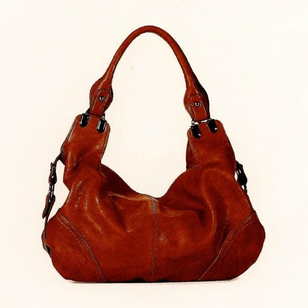 NANUCCI Paris Handtasche WEINROT (9910)
