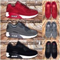UNISEX Rauleder-Look AIR Sportschuhe / Sneakers in 3 Farben