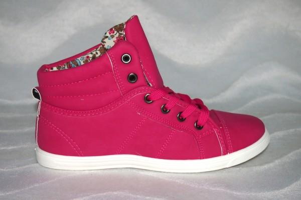 Sneakers Low Cut FUXIA