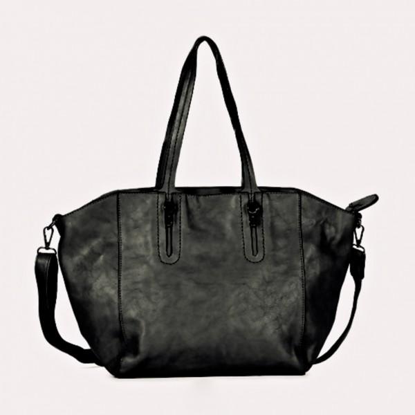 FLORA & CO Paris Handtasche SCHWARZ (7001)