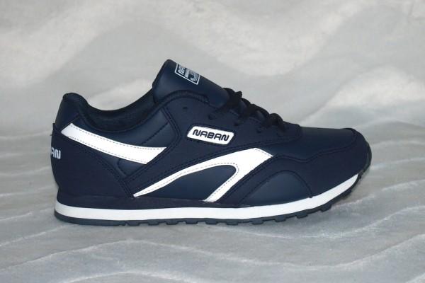 Unisex Sneakers Dunkelblau / Weiß
