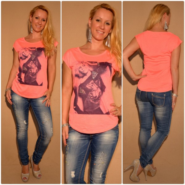 Stylisches Shirt Modell: LADY / LACHS