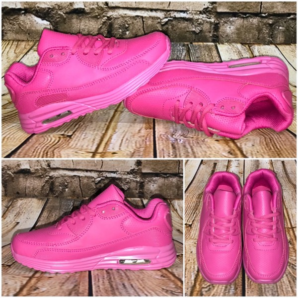 KINDER New Style LUFT Sportschuhe / Sneakers PINK