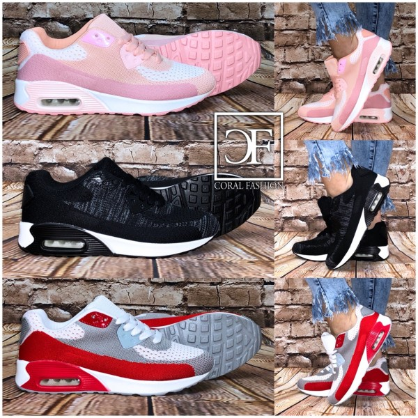 Fashion KNITTED LUFT Sportschuhe / Sneakers