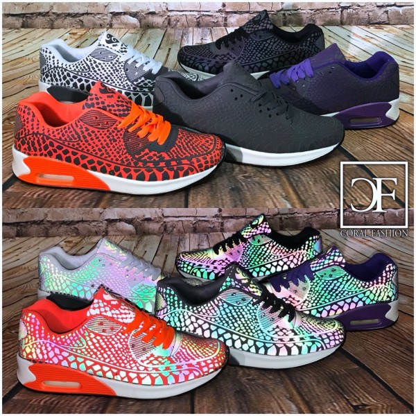 MAGIC Rainbow COLOR change LUFT Sportschuhe / Sneakers mit spezial Effekten