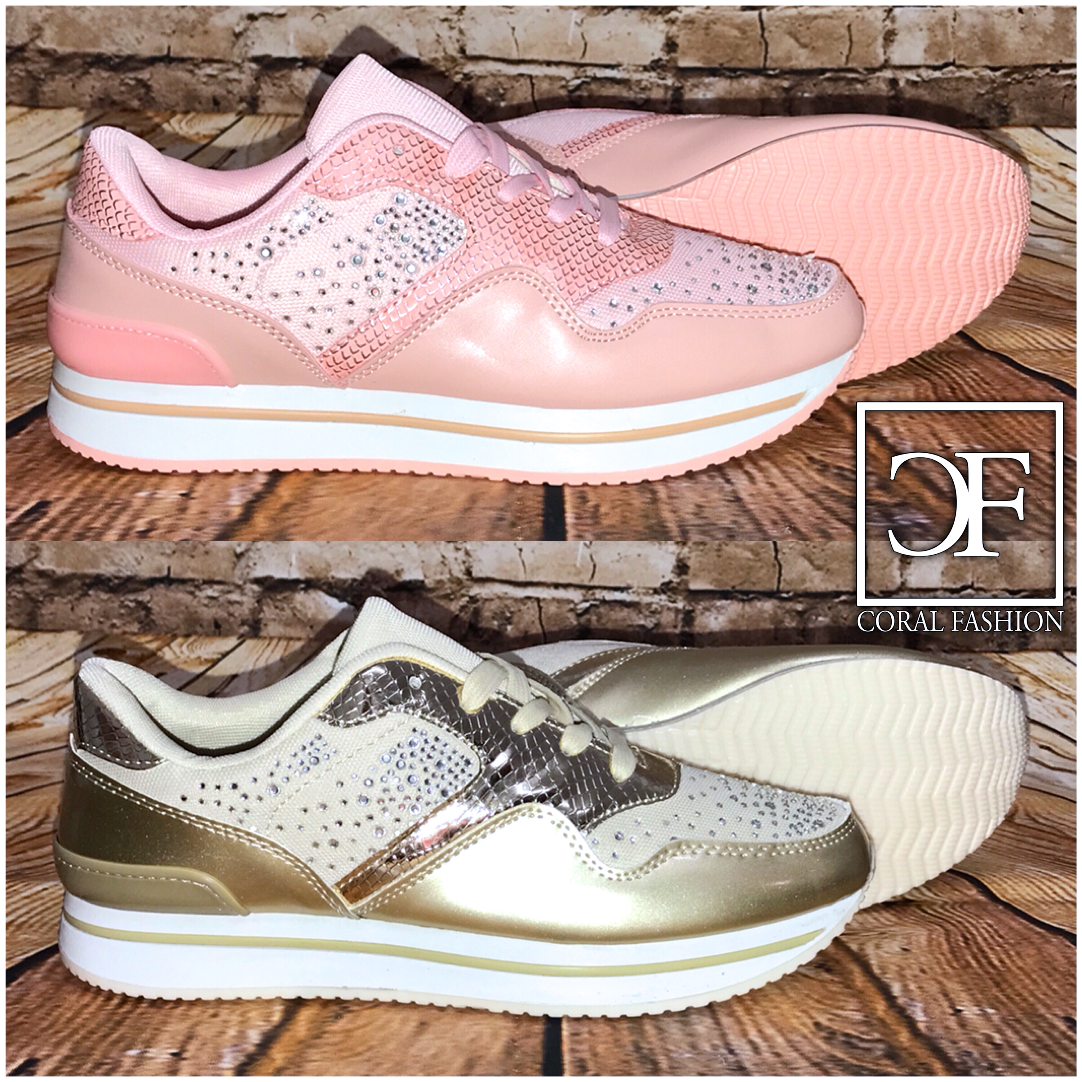 f9365be074bcb1 Coole GLITZER Fashion Sportschuhe   Sneakers mit STRASS besetzt ...