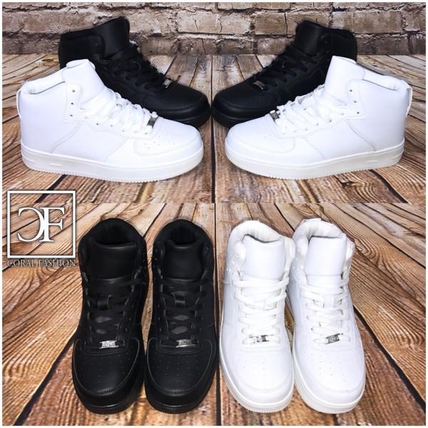 NEW Style HERREN / Unisex Highcut Sportschuhe / Sneakers in 2 Farben