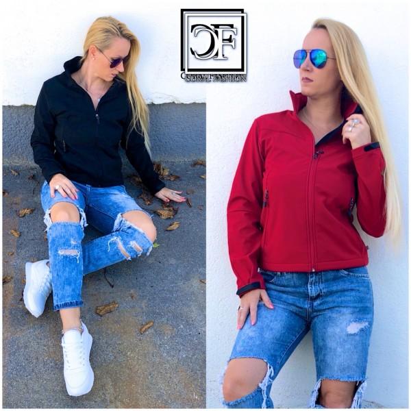 Klassische Damen Unisex Softshell Jacke Softshelljacke von Urban Nature