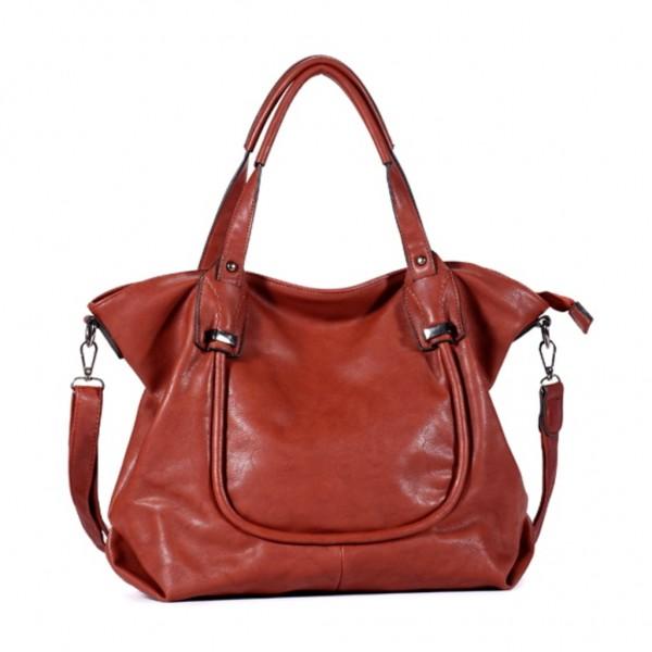 FLORA & CO Paris Handtasche ZIEGEL (7034)