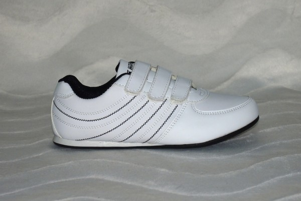 Sportschuhe mit Klettverschluss Weiß