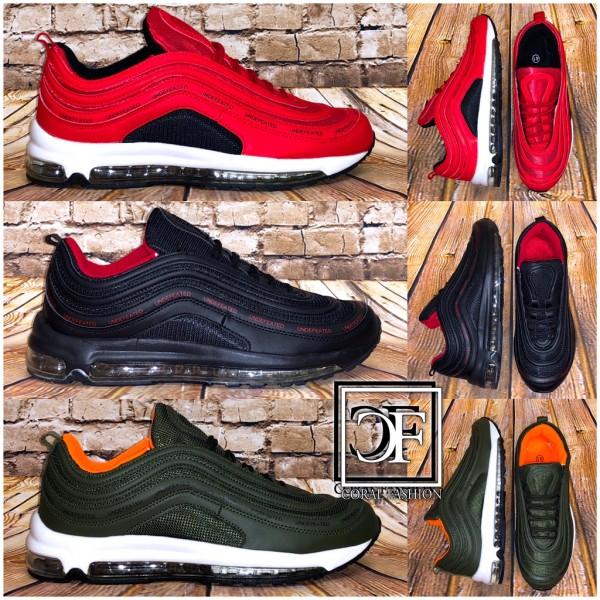 Herren FULL LUFT Stripe Sportschuhe Sneakers in 3 Farben