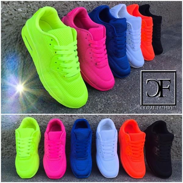 """Leichte """"TEX"""" LUFT Sportschuhe / Sneakers in 6 Farben"""