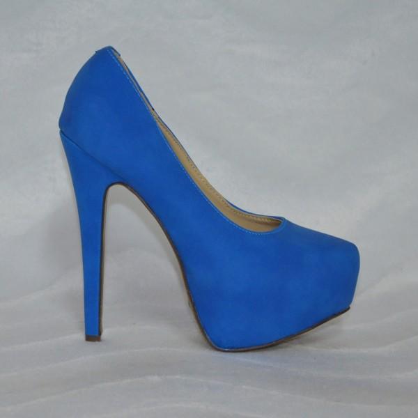 Sexy High Heels BLAU