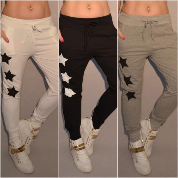 Italy Sweat Hose mit 3 STAR / STERN print