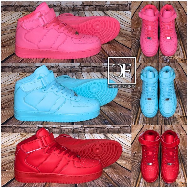 NEW Style Highcut KLETT Sportschuhe Sneakers in 3 Farben