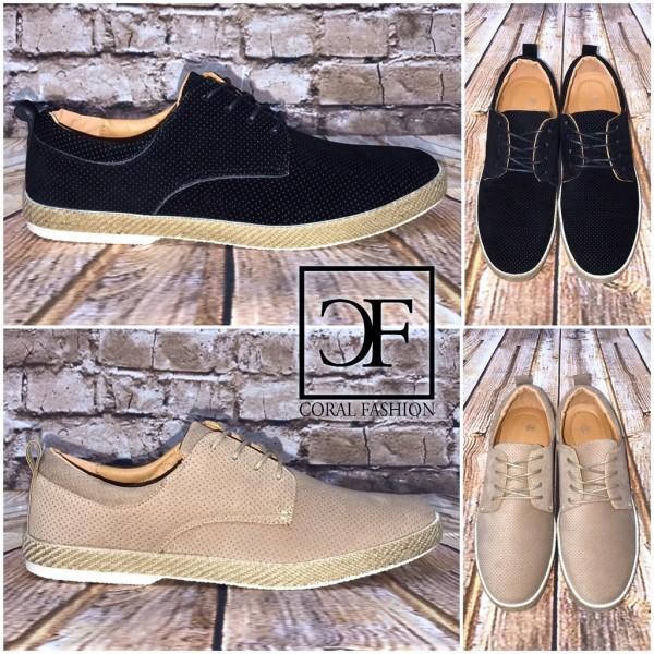 Klassische Sportlich Elegante HERREN Schuhe in 2 Farben
