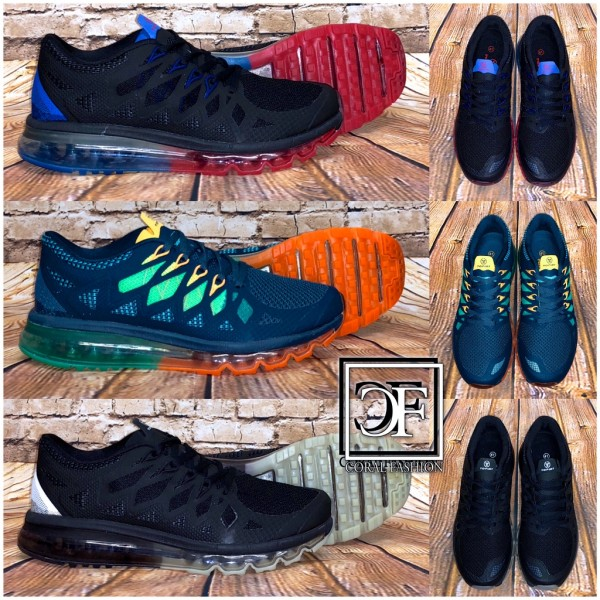 """WOW"" Herren FULL LUFT Color Mix Sportschuhe Sneakers"