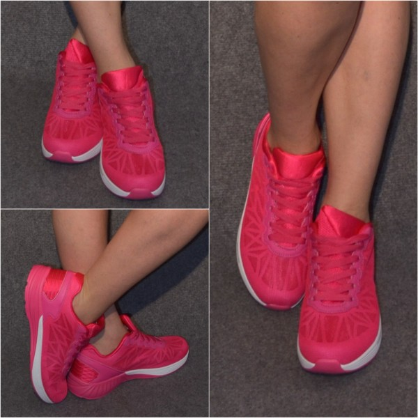 Leichte Sneakers / Sportschuhe PINK
