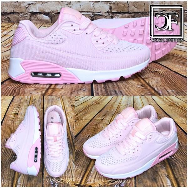 Damen NET print LUFT Sportschuhe / Sneakers ROSA