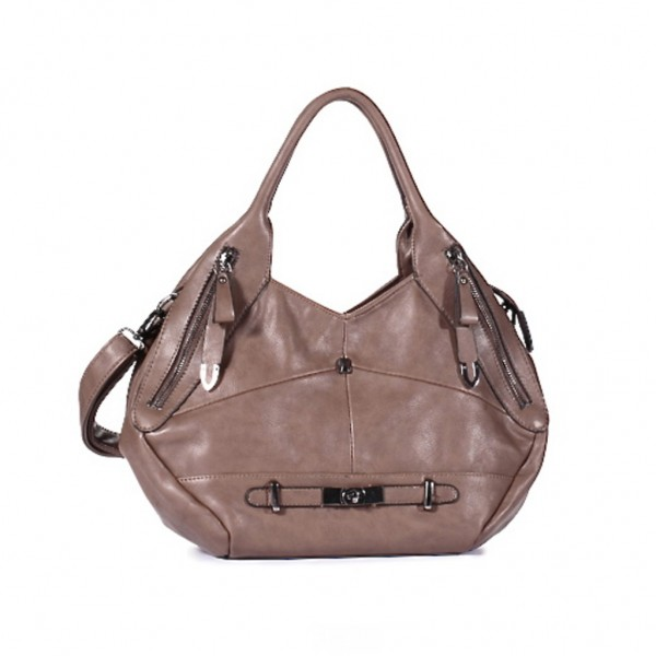 FLORA & CO Paris Handtasche TAUPE (7025)